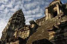 Free Central Tower Angkor Wat Temple Stock Images - 18475264