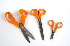 Free Three Scissors Stock Photography - 18475302