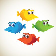 Set Of Fish Stock Image