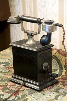 Free Vintage Phone - Beginning Of The Twentieth Century Royalty Free Stock Photography - 18476597