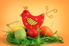 Free Easter Chicken Royalty Free Stock Photos - 18476748