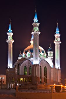Free Kul Sharif Mosque Stock Image - 18477301