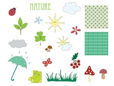 Free Elements Of Nature Royalty Free Stock Photography - 18477337