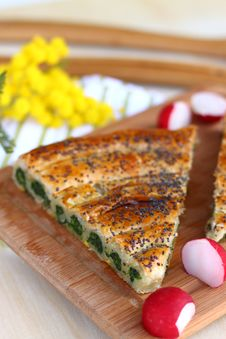 Free Spinach Tart Stock Photos - 18478583