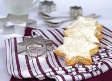 Free Vanilla Cookies Royalty Free Stock Photos - 18478638