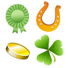 Free St. Patrick S Day Set Illustration Stock Photography - 18478862