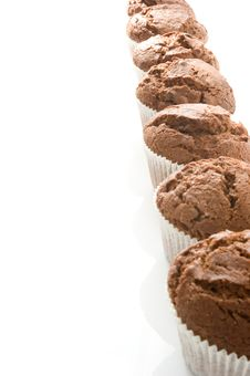 Free Chocolate Muffins Royalty Free Stock Photography - 18479357