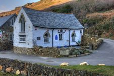 Free Boscastle Harbour Light Royalty Free Stock Images - 18479389