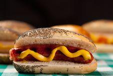 Free Wurst Sandwich Royalty Free Stock Photo - 18479635