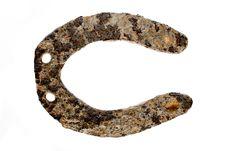 Free Rusty Horseshoe Stock Image - 18479761