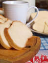 Free Bread And Milk Stock Photography - 18481482