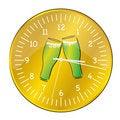 Free Beer Clock Stock Photos - 18486223