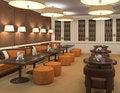 Free Interior Of Restaurant. Stock Image - 18489781