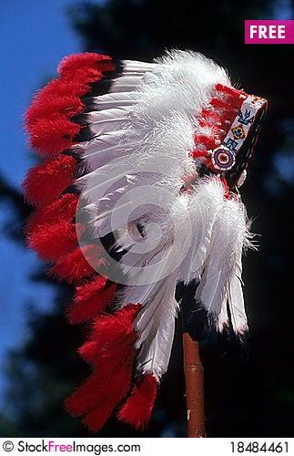 Free Native American Headdress Stock Image - 18484461