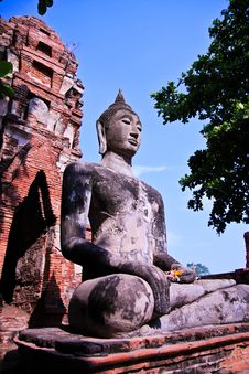 Free Buddha Statue Royalty Free Stock Photos - 18480408