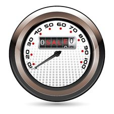 Free Sale Speedometer Royalty Free Stock Image - 18480796