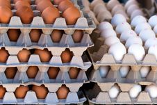 Free Many Eggs Stairs Stacked Stock Photography - 18480902