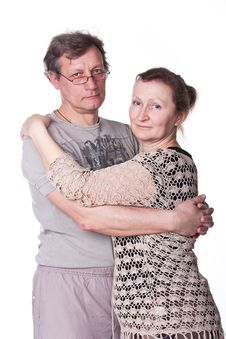 Free Happy Seniors Couple In Love Royalty Free Stock Photography - 18480987