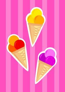 Free Ice-cream Stock Photography - 18481032