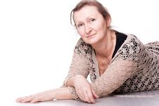 Free Portrait Of An Elderly Woman Royalty Free Stock Photos - 18481128
