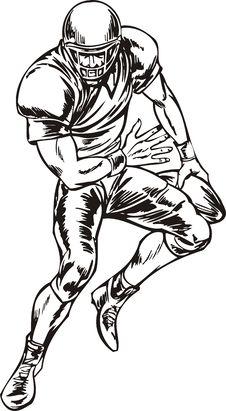 Free Football. Royalty Free Stock Photography - 18481537