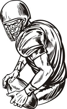 Free Football. Stock Image - 18481561