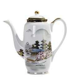 Free Asian Handpaint Teapot Stock Photography - 18481642