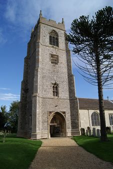 Free Tall Church Royalty Free Stock Photo - 18481735