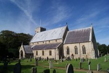 Free Old Hunstanton Church Stock Photography - 18481872