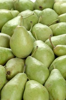 Free Frame Full Of Green Pears Royalty Free Stock Images - 18482089