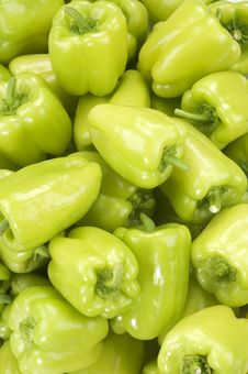 Free Green Peppers(background) Stock Photo - 18482200