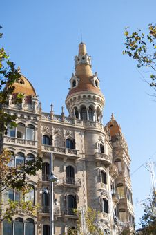 Free Historical Building In Barcelona Stock Photography - 18482502
