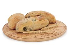 Free Olive Bread Rolls Stock Image - 18482611