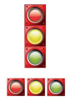 Free Traffic Lights Stock Images - 18482754