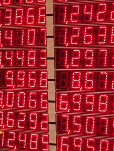 Free Money Exchange Display Royalty Free Stock Images - 18483199