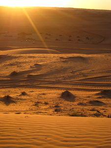 Free The Arabic Desert Stock Photo - 18483420