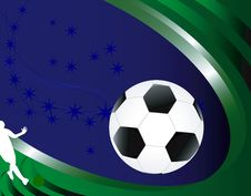 Free Soccer Abstract Background. Stock Photos - 18483483