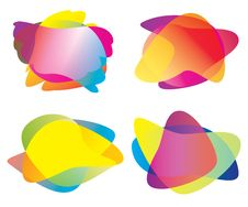 Free Speech Bubble Collection Royalty Free Stock Photography - 18483827