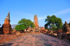 Free Ancient Temple Of Ayutthaya, Thailand. Stock Image - 18486751