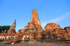 Free Ancient Temple Of Ayutthaya, Thailand. Royalty Free Stock Images - 18486759