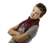 Free Portrait Of A Teenager Royalty Free Stock Photos - 18487008