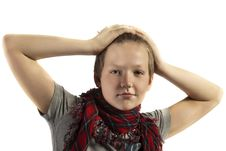 Free Portrait Of A Teenager Stock Images - 18487014