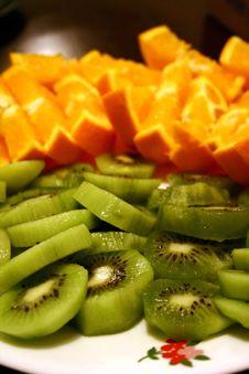 Free Fruit Plate Stock Photo - 18487490