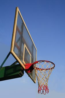Free Basket Ball Hook Royalty Free Stock Images - 18487519