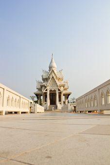 Free White Pavilion Royalty Free Stock Image - 18487626