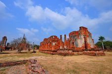 Free Ancient Temple Of Ayutthaya, Thailand. Royalty Free Stock Photos - 18488028