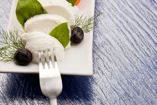 Free Tomatoe Mozzarella Salad Stock Photography - 18488372