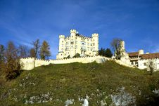 Free Hohenschwangau Castle In Germany Stock Image - 18488451