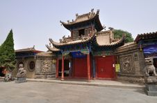 Free China Temple -Gaomiao Royalty Free Stock Photography - 18488767