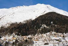 Free Alpine Village Royalty Free Stock Image - 18488846